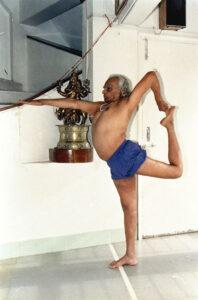 B.K.S. Iyengar Natarajasana