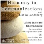 Harmony in Communications