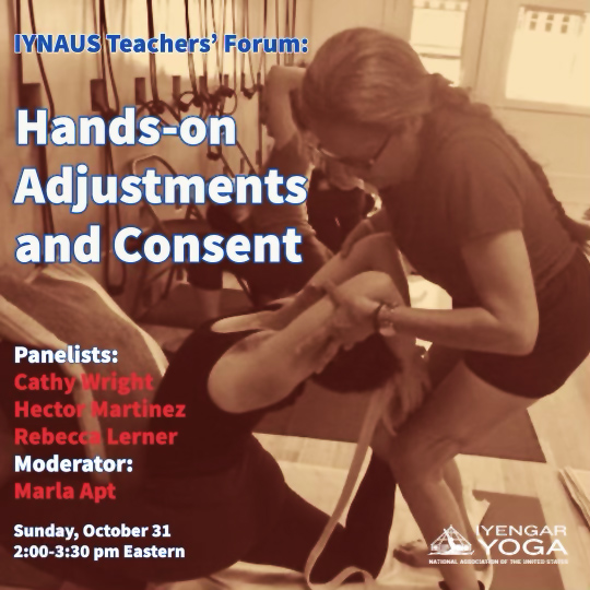 Hands-on Adjustments and Consent