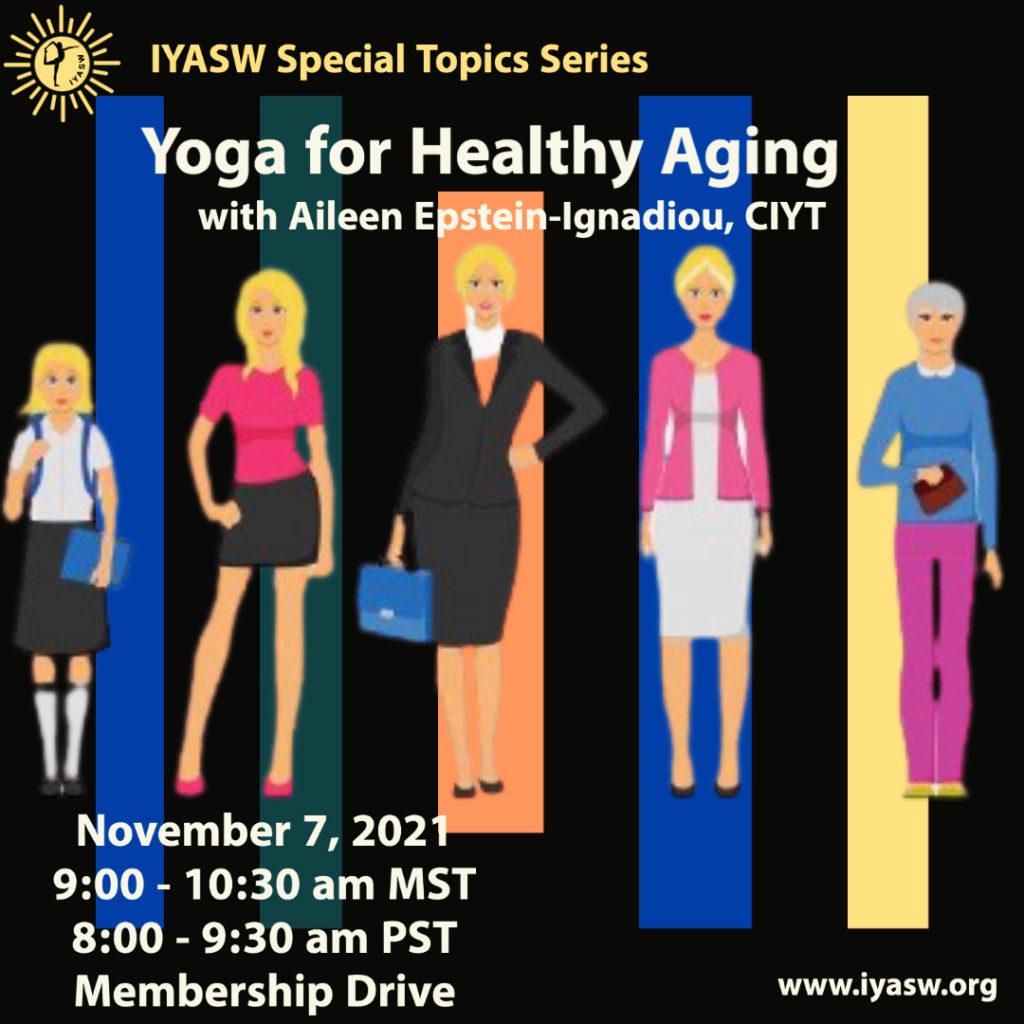 IYASW Healthy Aging 2 - Iyengar Yoga Southwest